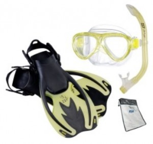 Mask Snorkel and Fin Sets